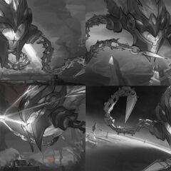 Infernal Vel'Koz Splash Concept 1 (by Riot Contracted Artist <a href=