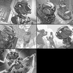 Hextech Amumu Splash Concept 1 (by Riot Contracted Artist <a rel=