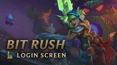 Bit Rush (2015) - ekran logowania