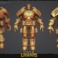 Commando Garen Update Model 1 (by Riot Artists <a rel=