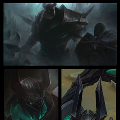 Mordekaiser Update Splash Concept (by Riot Artist <a href=