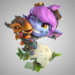 Dragon Trainer Tristana Statue Model 1 (by Riot Artists <a href=