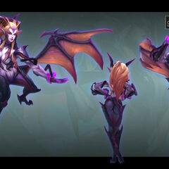 Dragon Sorceress Zyra Model 5 (by Riot Artist <a href=