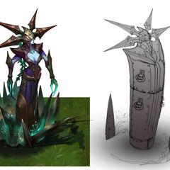 Blade Queen Lissandra Concept 2 (by Riot Artist <a href=
