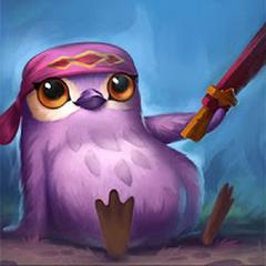 Mała Legenda Wiśniowy Ptasi Rycerz