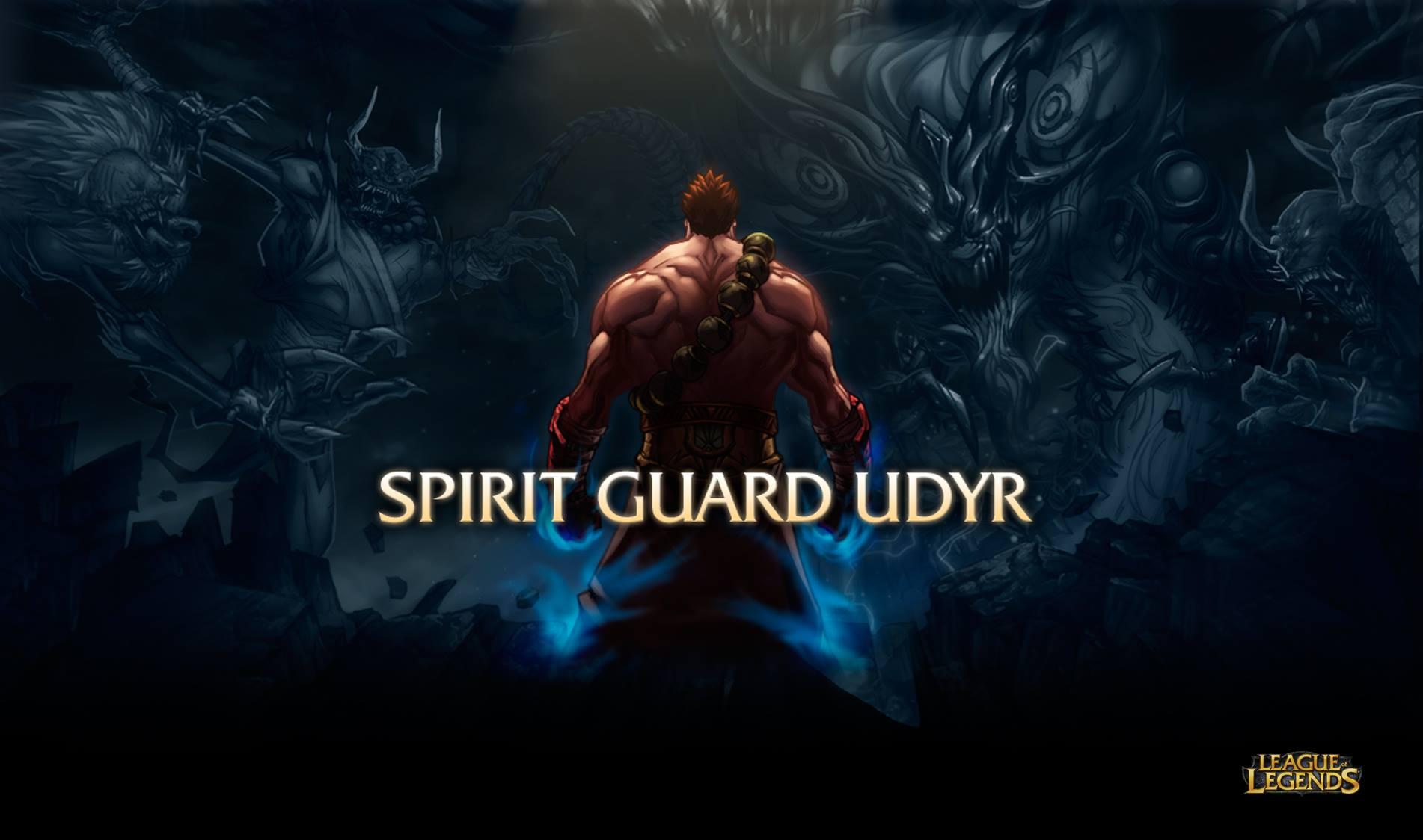 Udyr SpiritGuard Comic Cover 01