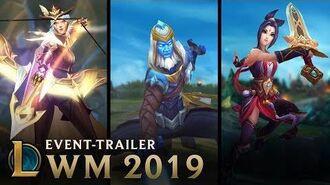 WM 2019 Die Zukunft gehört uns Event-Trailer – League of Legends