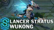 Weiße Wolkenlanze Wukong - Skin-Spotlight