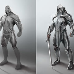 Demacian warrior Concept 2 (by Riot Artist <a href=