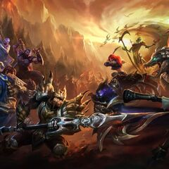 Champions in battle 2