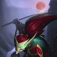Blood Moon Yasuo Promo (by Riot Artist <a rel=