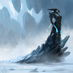 Lissandra Concept 1 (by Riot Artist <a rel=