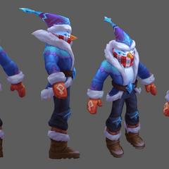 Snow Man Yi Model