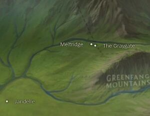 Meltridge map