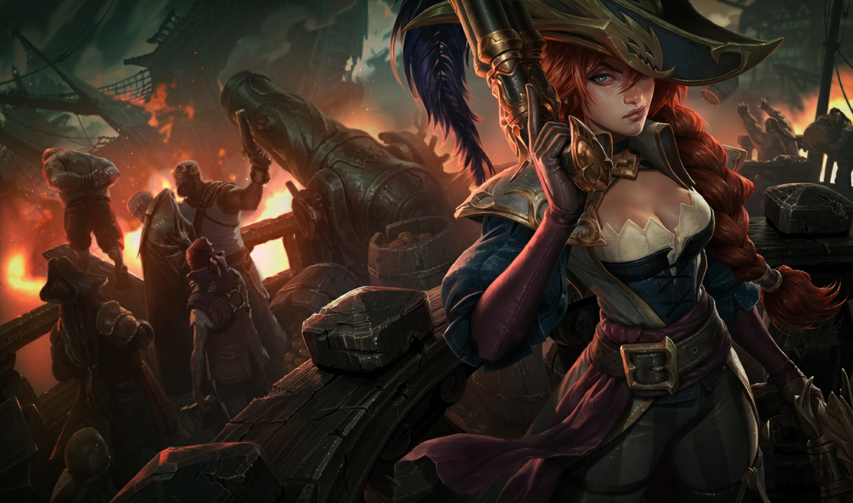 Miss Fortune Käpt'n Fortune S