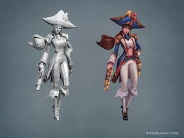 Miss Fortune Update Waterloo- model 01