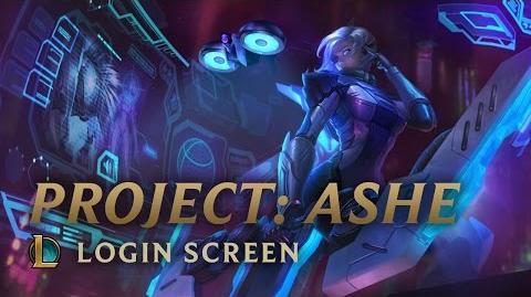 PROJECT Ashe - Login Screen