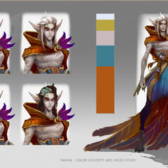 Rakan Concept 1 (by Riot Artist <a href=