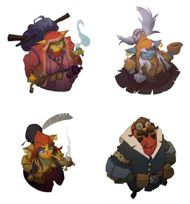 Summoner's Rift Update Creature Shopkeepers