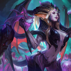 Dragon Sorceress Zyra Splash Concept 4 (by Riot Artist <a href=