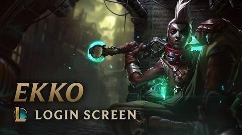 Ekko, der Zeitbrecher - Login Screen