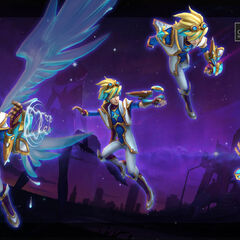 Star Guardian Ezreal Model 1 (by Riot Artist <a href=