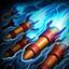 Hextech Rocket Swarm