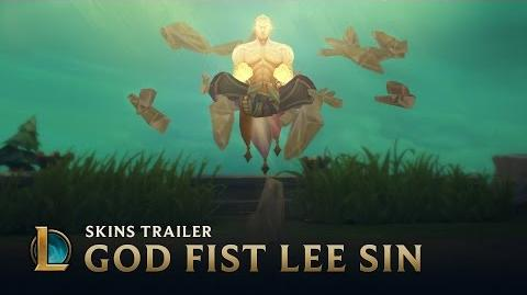 Might of the God Fist God Fist Lee Sin 2017 Skin Trailer - League of Legends