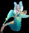 Morgana Majestätische Kaiserin Morgana (Türkis) M