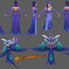 Majestic Empress Morgana Model