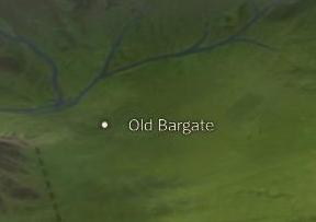 Old Bargate map