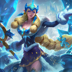 Winter Wonder Soraka Splash Concept 2 (by Riot Artist <a href=