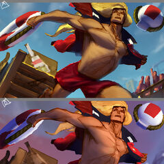 Pool Party Taric Splash Concept 2 (by Riot Artist <a href=
