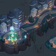 Valoran City Park Concept 4 (by Riot Artist <a href=