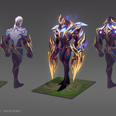Galaxy Slayer Zed Concept (by Riot Artist <a rel=