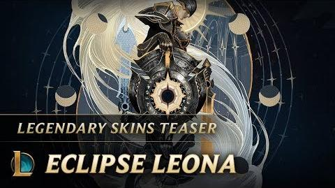 Answer To Her Light Eclipse Leona Skins Teaser - League of Legends