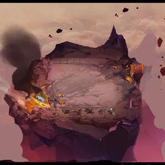 Crash Site Arena Concept