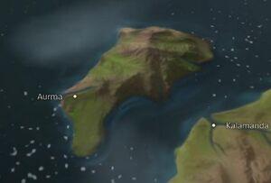 Aurma map