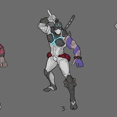 Pulsefire Shen Concept 2 (by Riot Artist <a href=