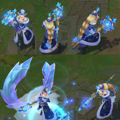 Winter Wonder Soraka Model 8 (by Riot Artist <a href=