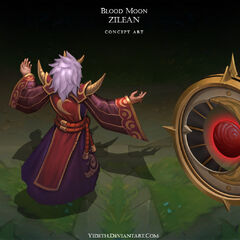 Blood Moon Zilean Concept (by Riot Artist <a href=