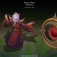 Blood Moon Zilean Concept (by Riot Artist <a href=