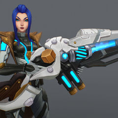 Pulsefire Caitlyn Model 2 (by Riot Artist <a href=