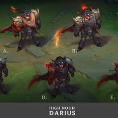 High Noon Darius Concept 2 (by Riot Artist <a href=