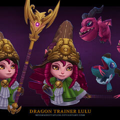 Dragon Trainer Lulu Model 4 (by Riot Artist <a href=