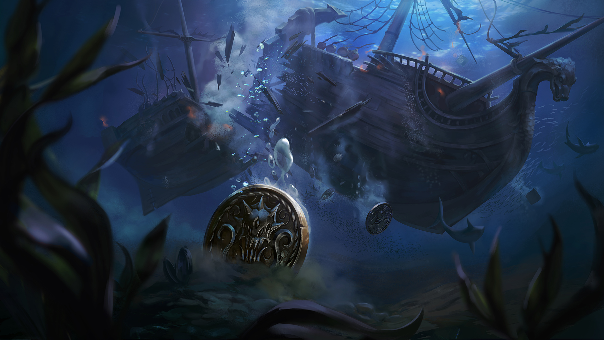 Nautilus Dead in the Water