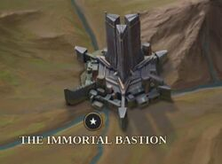 The Immortal Bastion map
