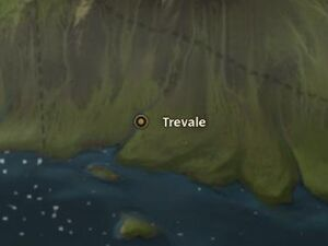 Trevale map