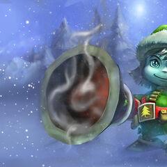 Pierwszy portret Świątecznego Elfa Tristany