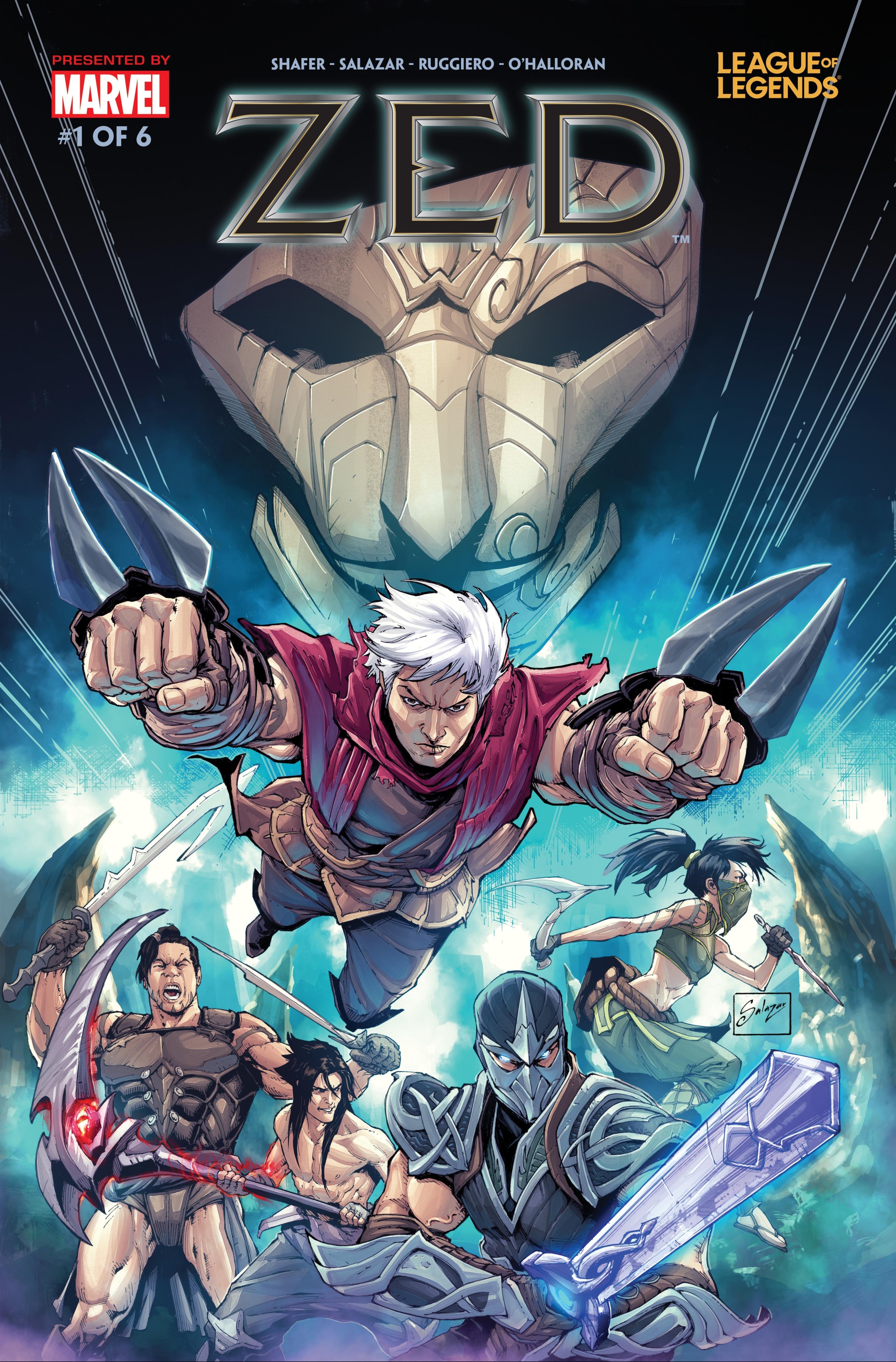 Zed Comic 1 Cover 1